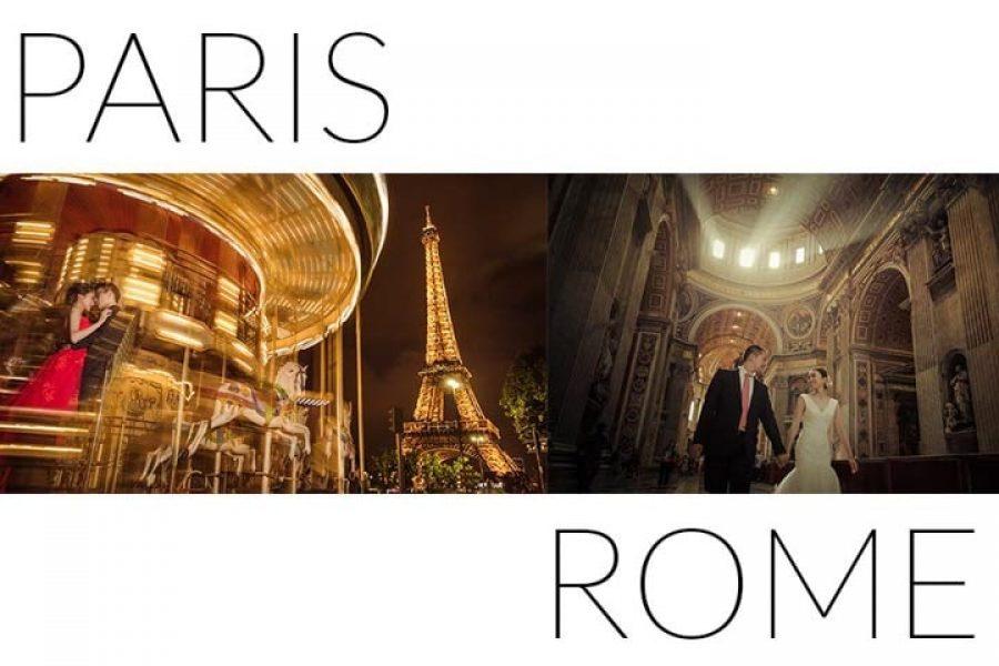 巴黎+罗马两地