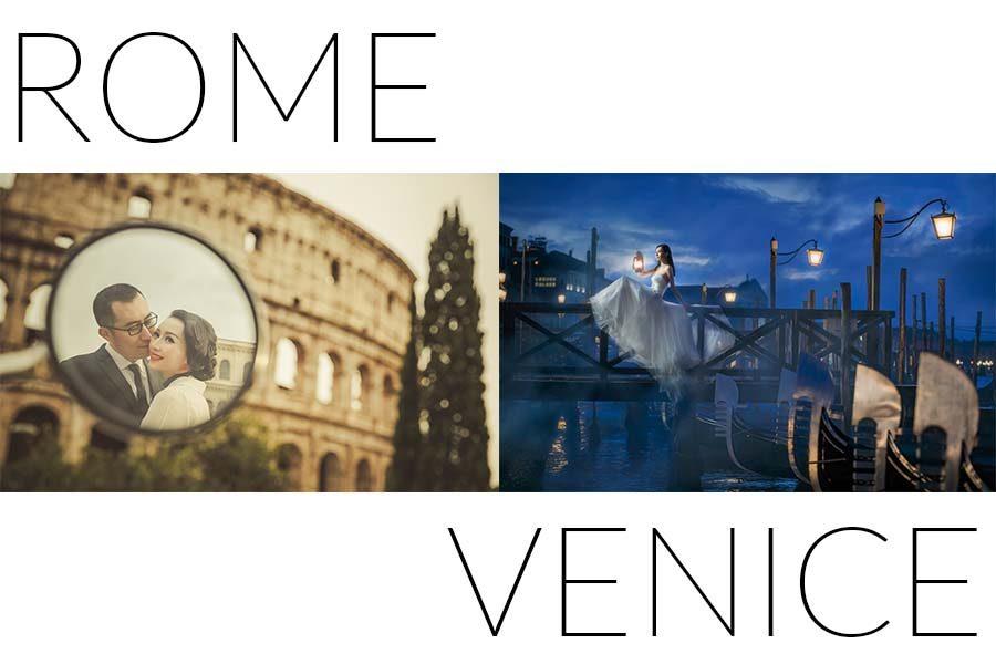 罗马+威尼斯两地