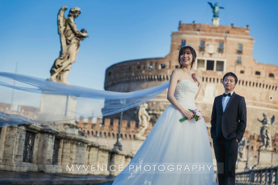 意大利婚纱照,欧洲婚纱照,罗马婚纱照,pre wedding photo Rome