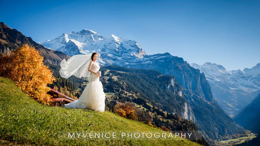 欧洲旅拍,欧洲婚纱照,瑞士旅拍,pre wedding photo Switzerland