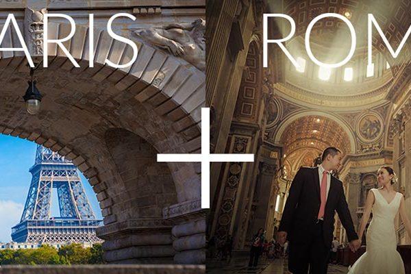 巴黎+罗马