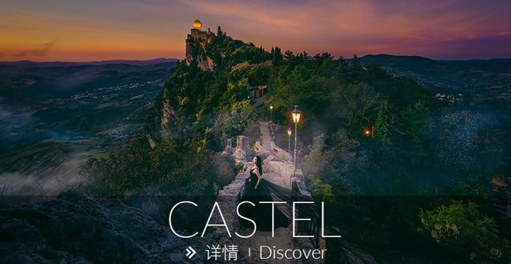 古堡旅拍, 欧洲婚纱照, 意大利旅拍, 古堡婚纱摄影, 欧洲旅拍, Castel Pre-Wedding photo, MyVenice Photography